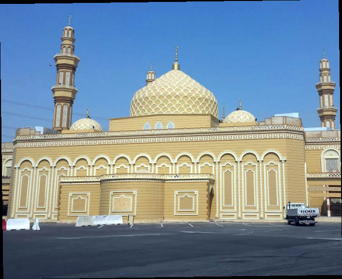 Mosque and religious center for the crown prince1